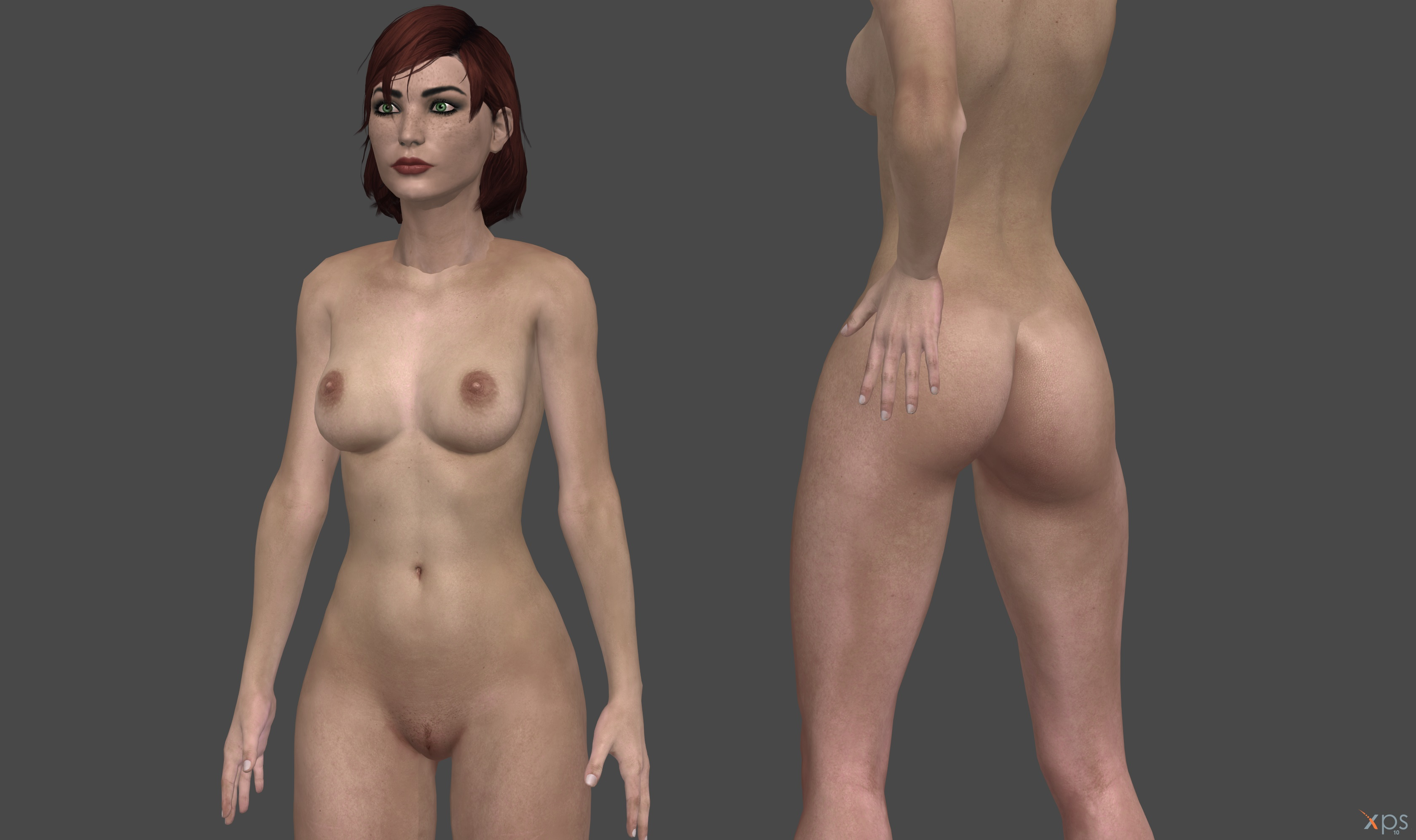 Me 3 shepard nude hentai video
