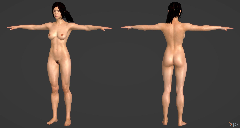 Lara Croft Model Nude 113