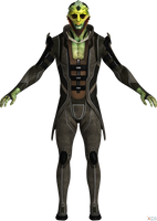 Mass Effect 2: Thane Krios default model HQ by g1pno