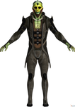 Mass Effect 2: Thane Krios default model HQ