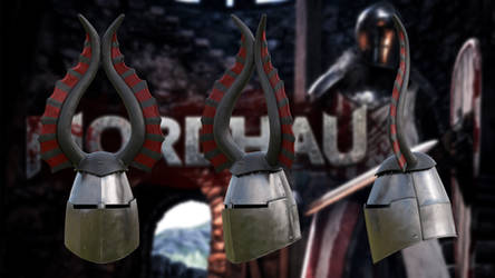 Mordhau - Winged Great helm by g1pno