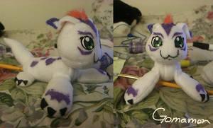 Gomamon Plush by PuddingPlushiePalace