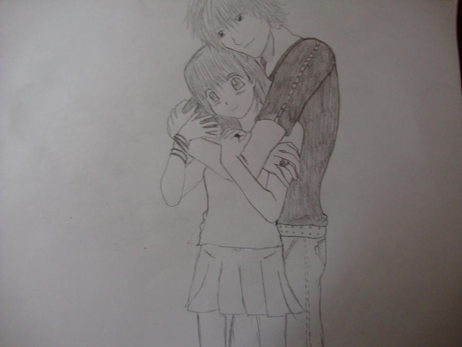 A hug from behind by XSoryn on DeviantArt