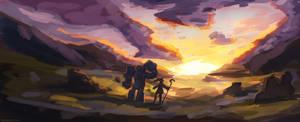 Sunset by Ateliz