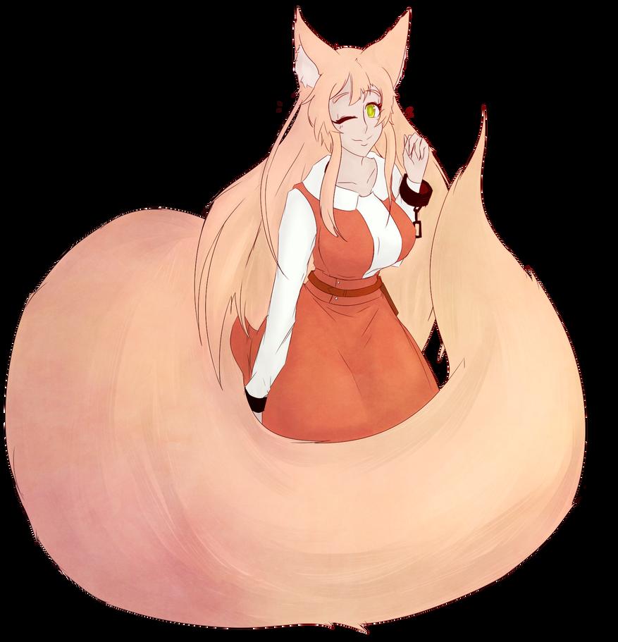 Kitsune Watashi by Critnuke