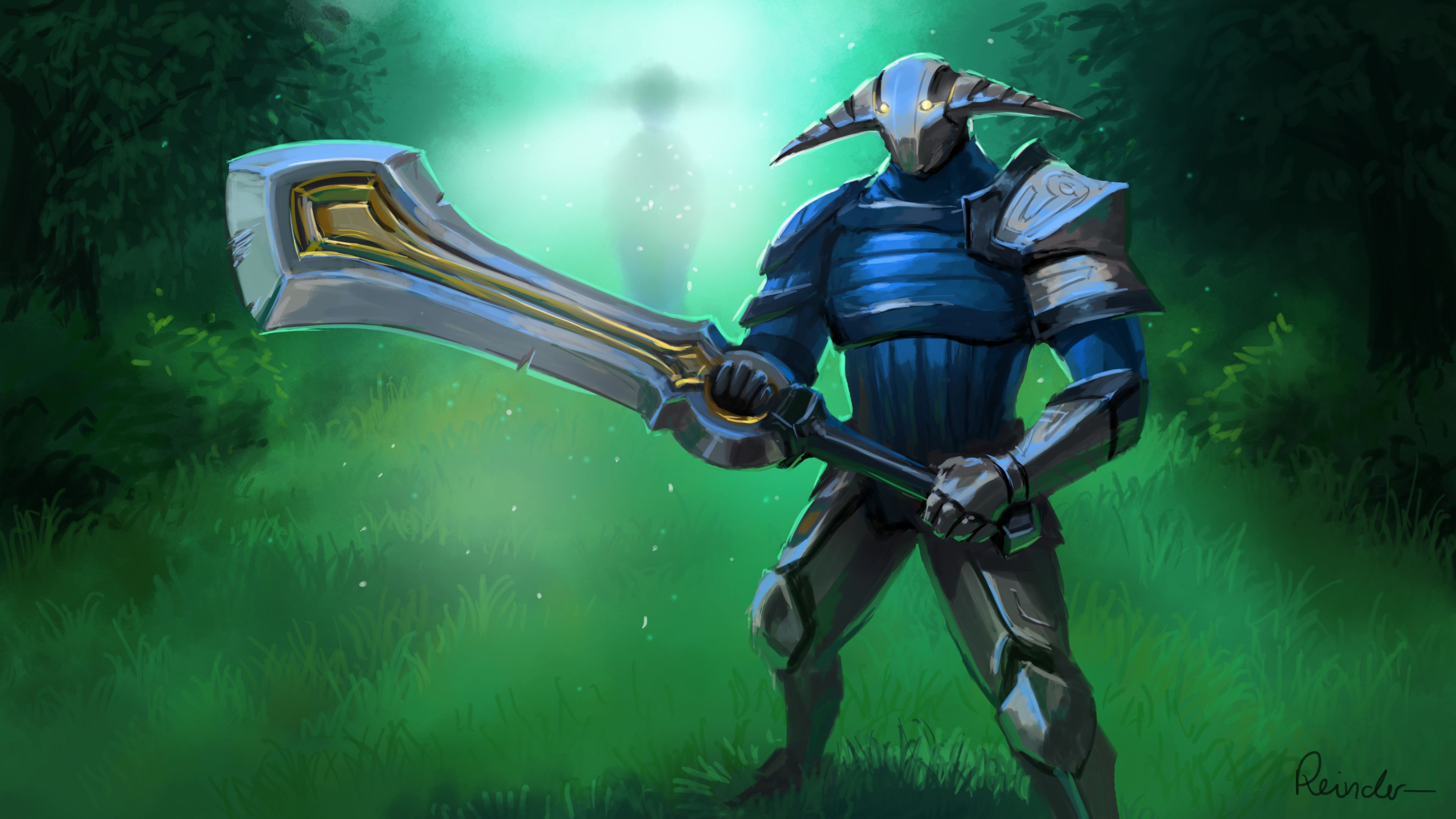 Sven The Rogue Knight by Reinder88 on DeviantArt