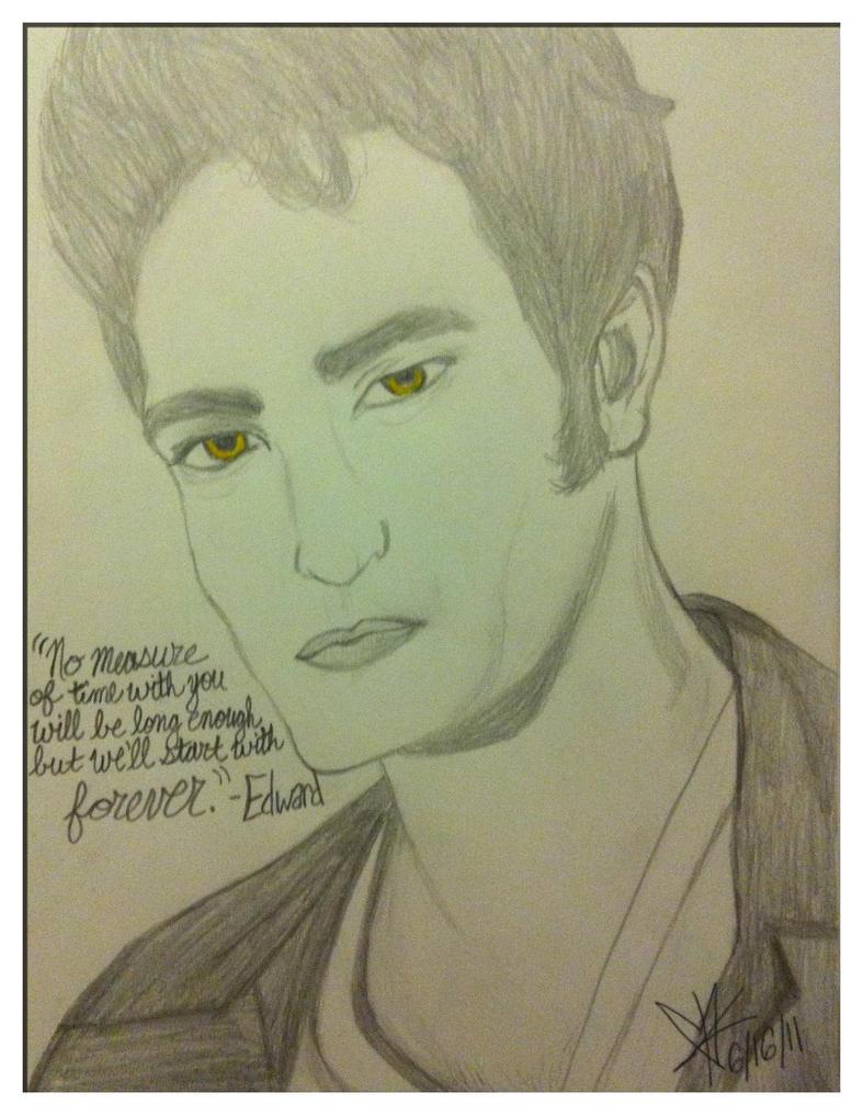 Edward Cullen by CloVerThePirate