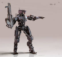 Robosoldier by handfighter