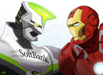 Wild Tiger Vs Iron Man