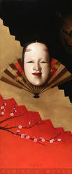 Noh Theater Masks: Envy by Kumiko-McKee