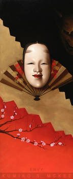 Noh Theater Masks: Envy