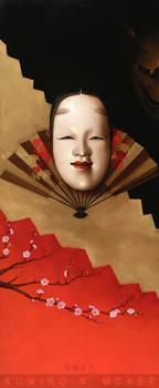 Noh Theater Masks: Envy
