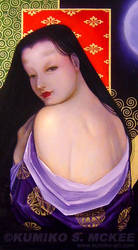 Close-UP: Lady of Oborozukiyo by Kumiko-McKee