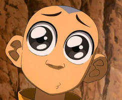 Aang Cute Face by JPLover764