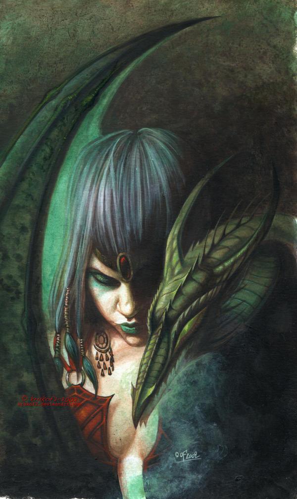 Daenerys and a Dragon by krukof2