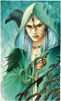 Morgane -  The Blue Witch
