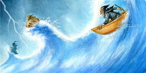 Surfin' witches