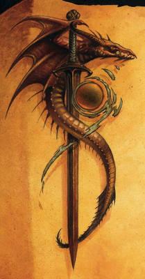 Parchemin au Dragon, details