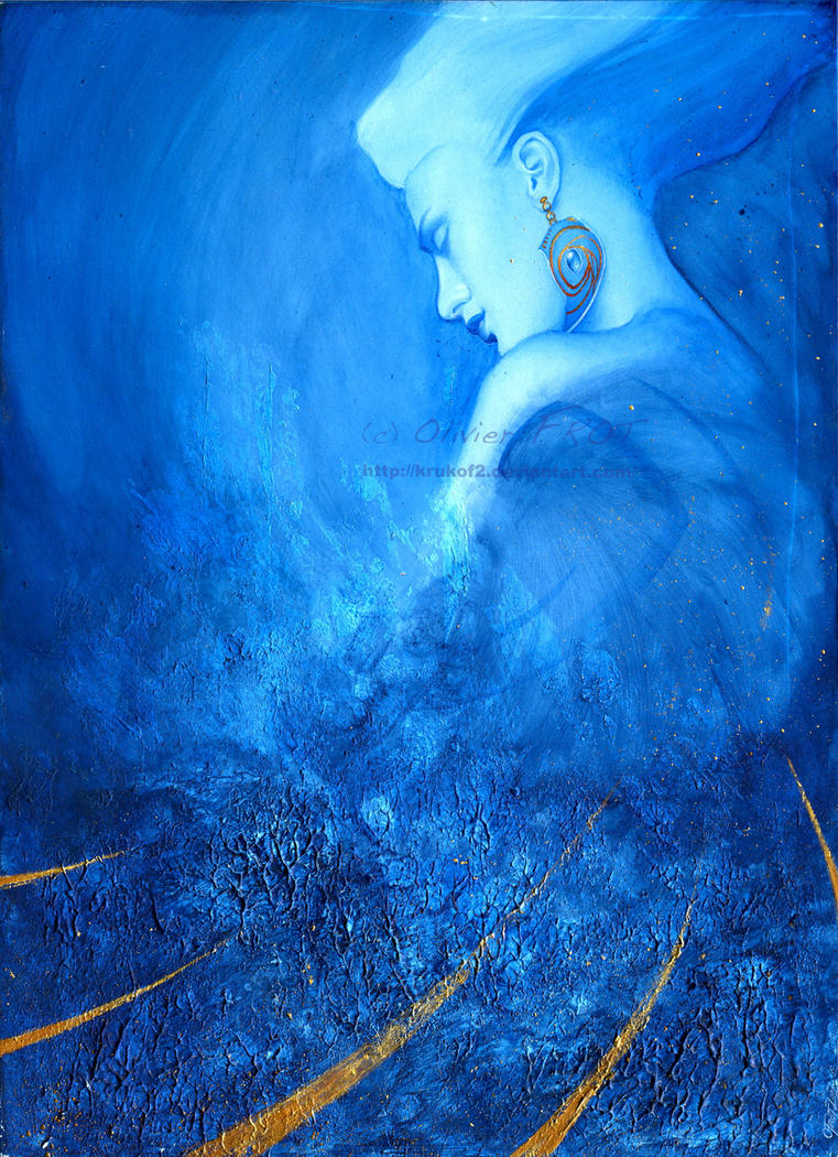 Hada Azul y Oro by krukof2