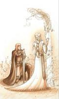 Guenievre et Lancelot