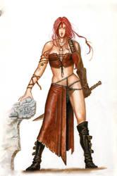 The Barbarian by krukof2