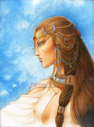 CASSIOPEE la Reine de Saba by krukof2