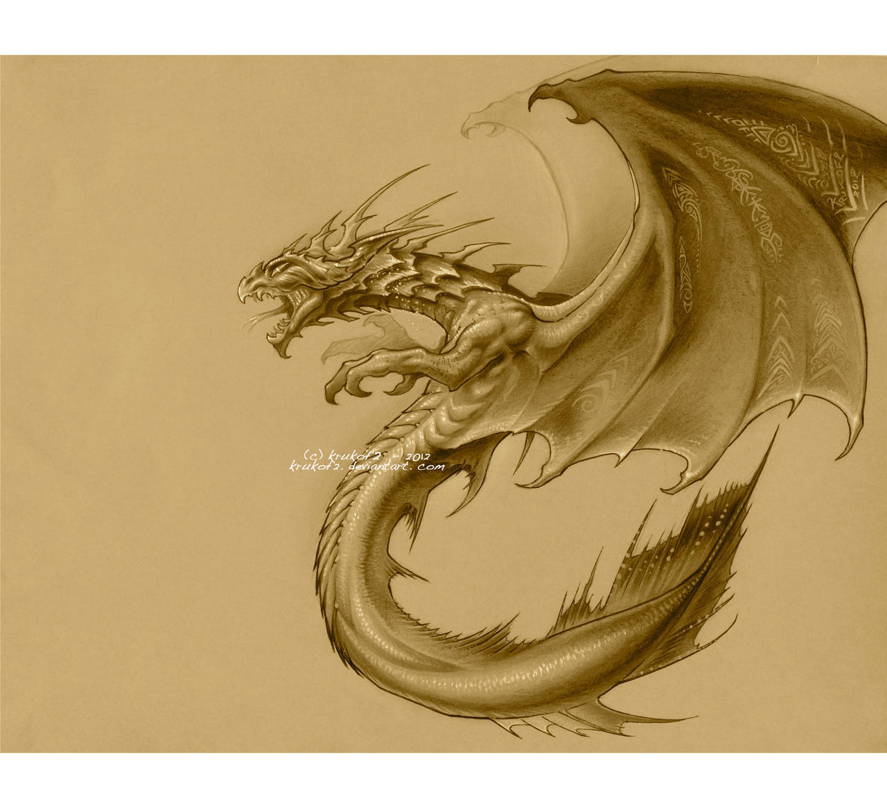 Dragon Demoniaque by krukof2