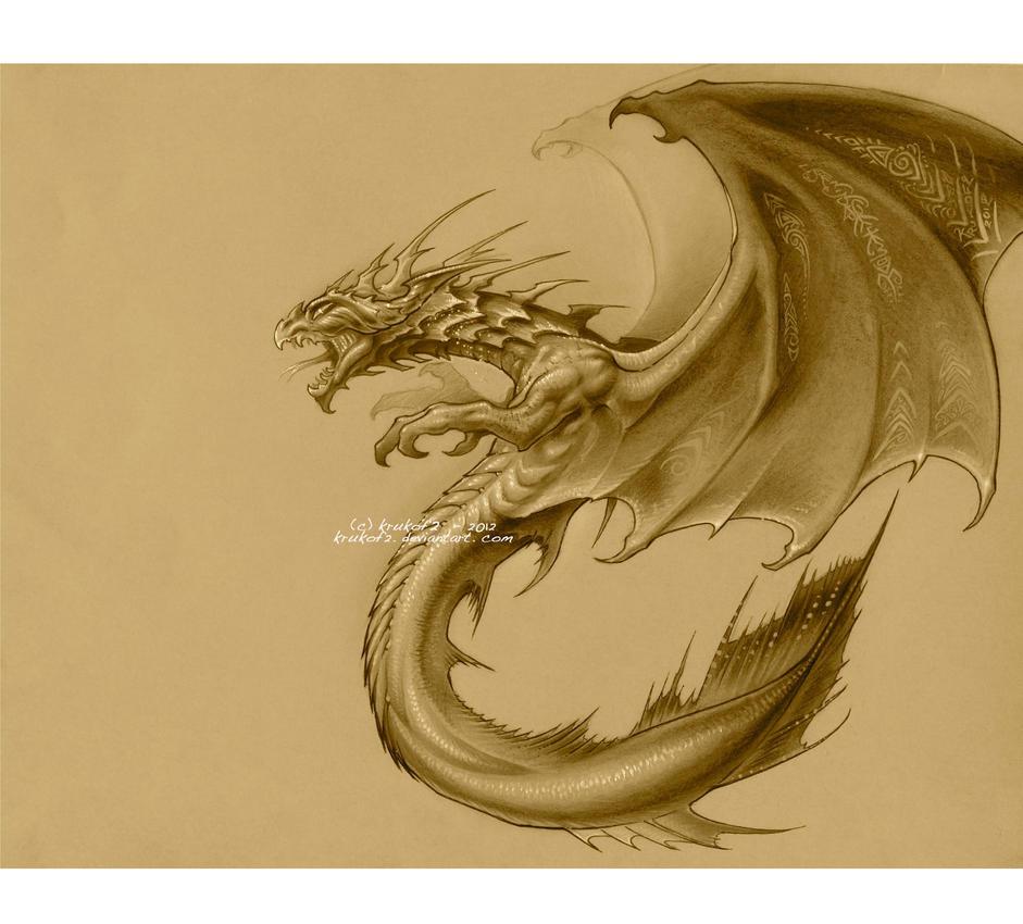 Dragon Demoniaque by krukof2