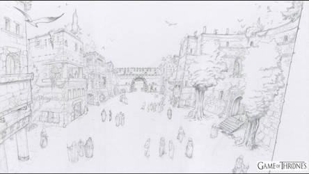 A Game of Throne Motion Comics - Qarth