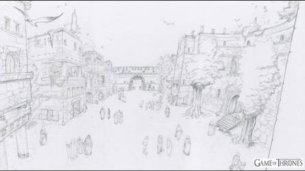 A Game of Throne Motion Comics - Qarth by krukof2