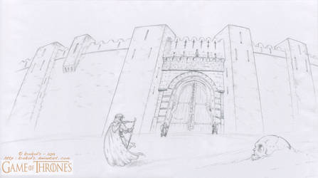 GAME Of THRONES - Oustide the City walls - Qarth
