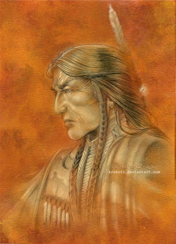 Sitting Bull - The Shaman by krukof2