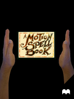 A Motion SPELL BOOK - animation - by krukof2