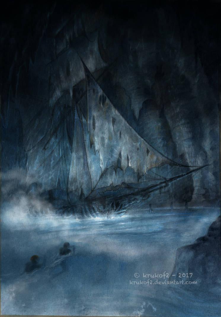 THe Ghost Ship by krukof2