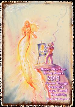 New Year Mermaid