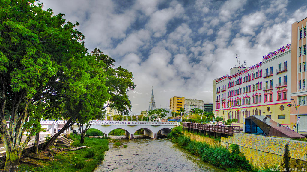 Boulevar de Cali Colombia by Novaker