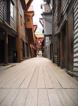 Bergen Alleyway