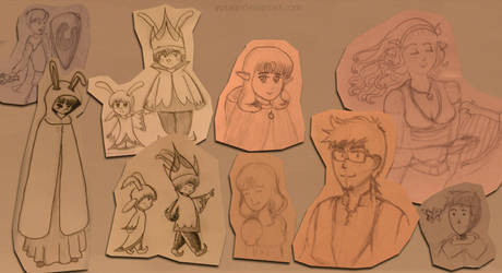 Bunch Of Sketches 01