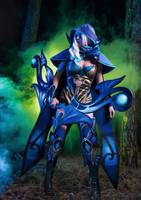 Dota 2: Drow Ranger cosplay. Way ahead of you.