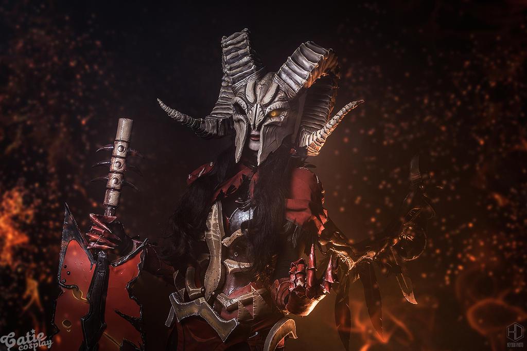 Doom Dota 2 cosplay by amio-mio