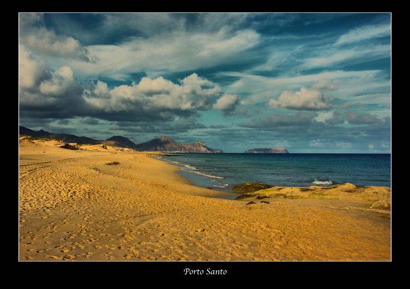 Beach of Porto Santo, Portugal by globetrotter85