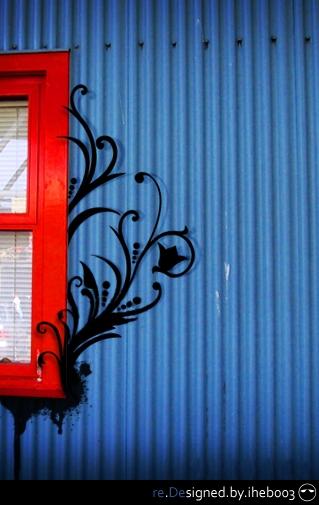 Blue Window by iheb003
