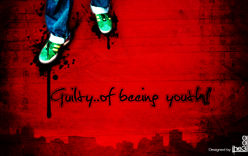 Guilty of beeing youth by iheb003