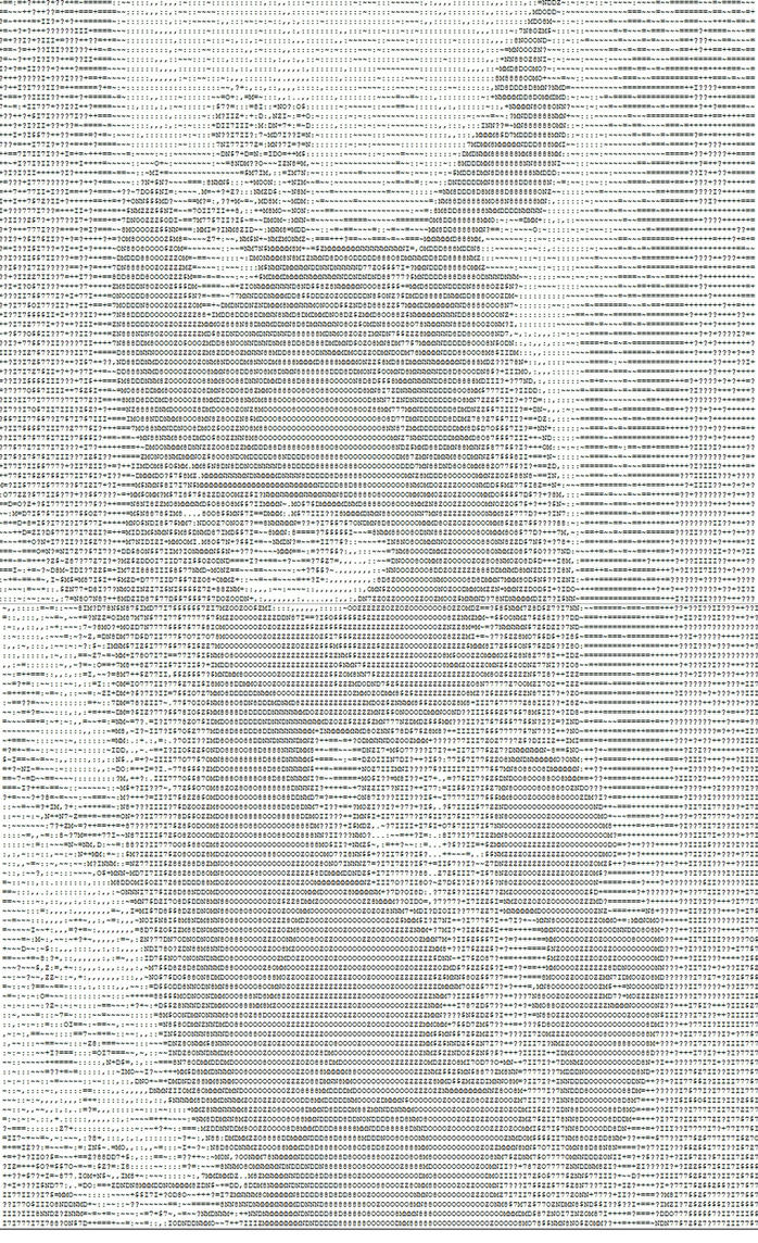 Ascii Art Chrysalis by Qewerka