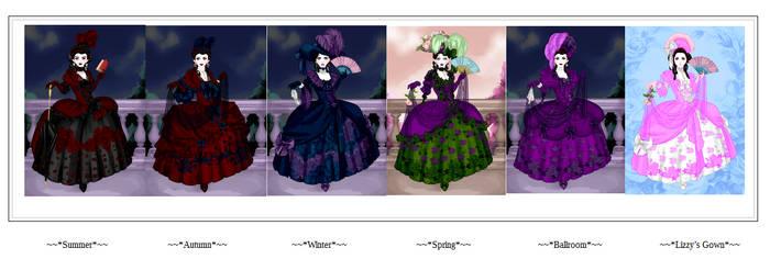 Demoness Ravena Gown Designs. (1) by Ashurii-Adokoku
