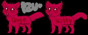 cat and dog lines P2U