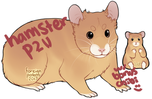P2U Hamster Base by foreign-potato