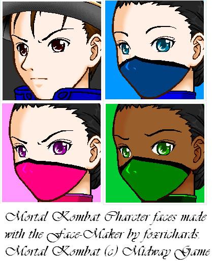Mortal Kombat by Face Maker by rainbow-neko619