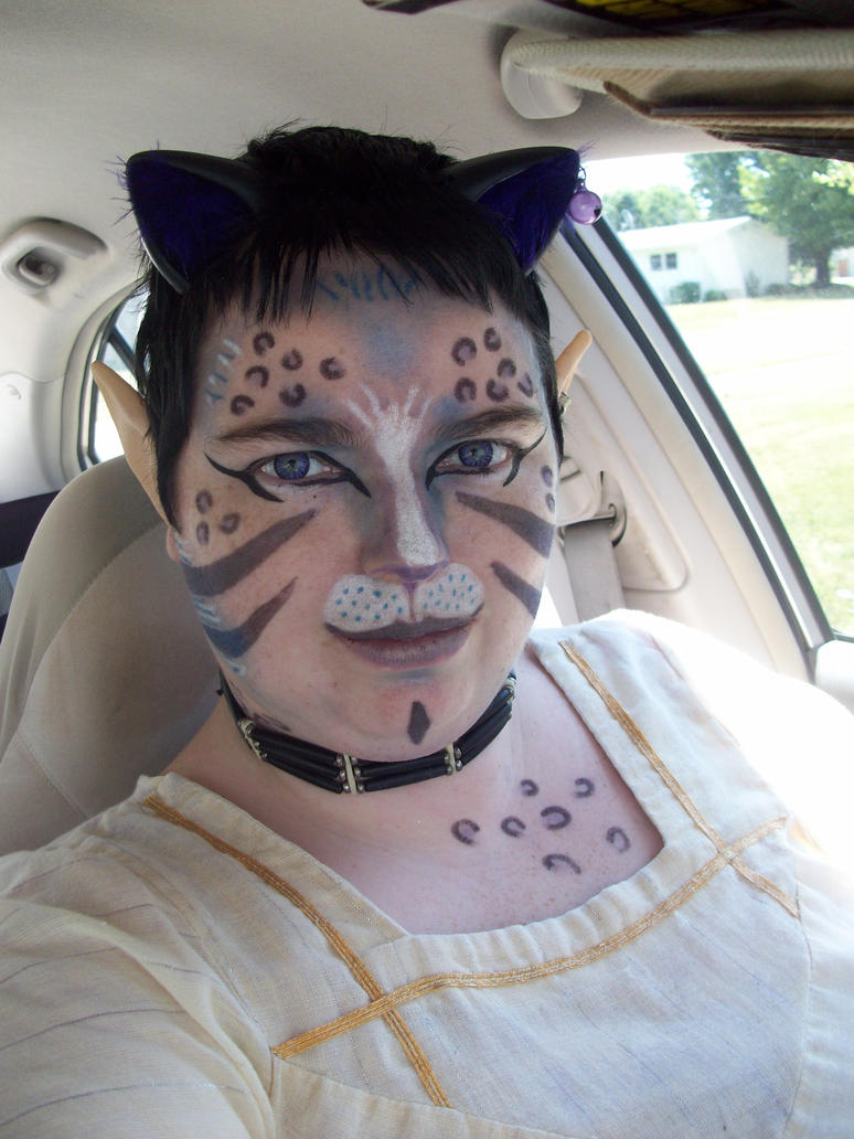 Neko Makeup Fun by FantasyBri