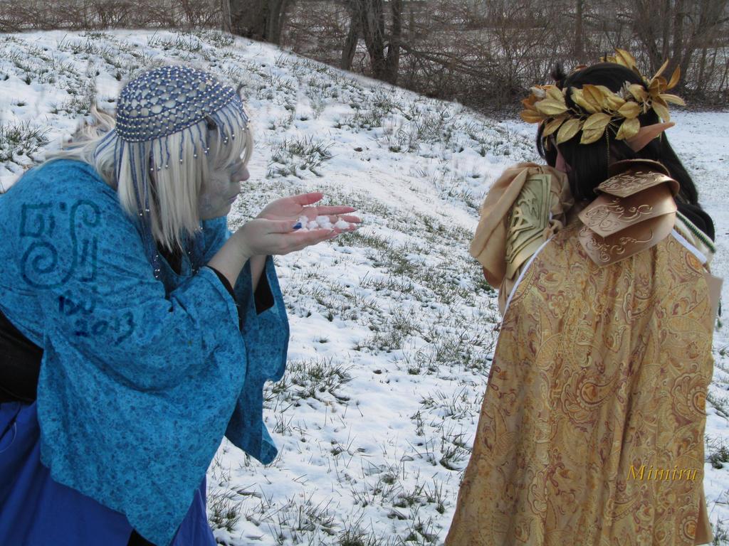 Snow Kiss by FantasyBri
